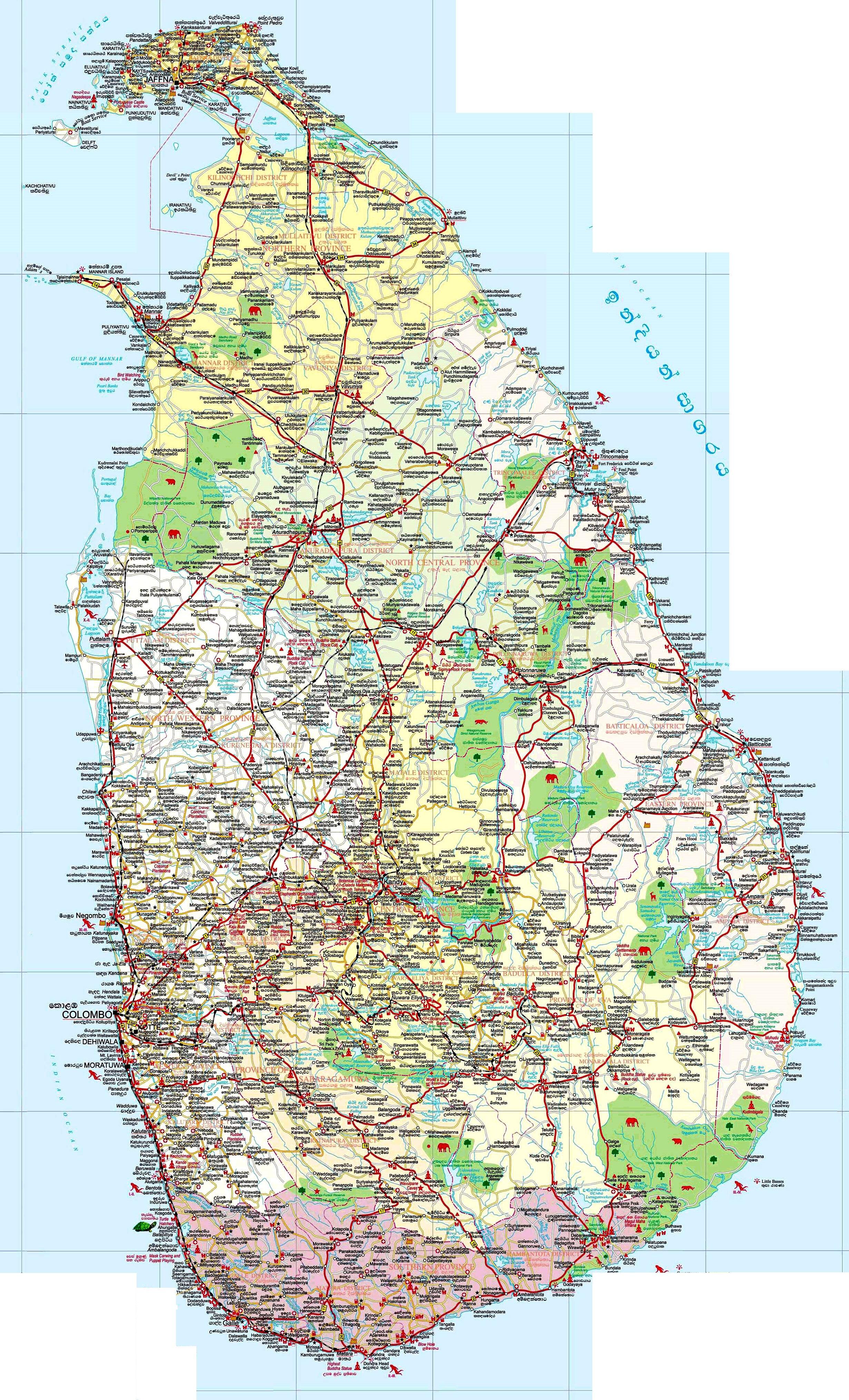 Malediven Karte Weltkarte.Sri Lanka Karte